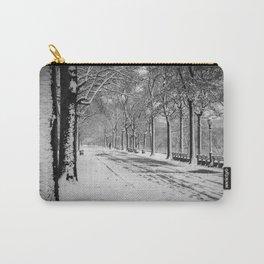 A Long Winter Walk Carry-All Pouch