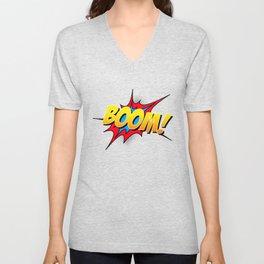 Boom!! Unisex V-Neck