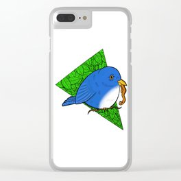 The Early Bird Gets the Worm Clear iPhone Case