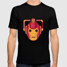 cyber iron man Black LARGE Mens Fitted Tee