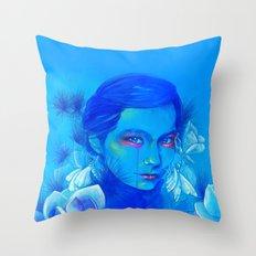 All Is Full of Love (Luna Moths) Throw Pillow
