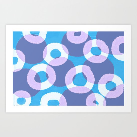 Circles Within Circles Art Print