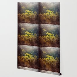 Abstract Yellow Daisies Wallpaper