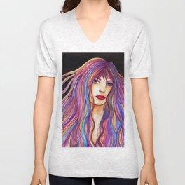 Inara [Artwork watercolor] Unisex V-Neck