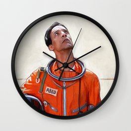 Abed The Astronaut - Six Seasons And A Movie - Community Wall Clock