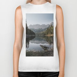 Lake View - Landscape and Nature Photography Biker Tank
