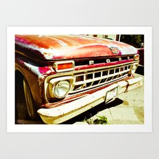 Ford Tough (2) Art Print