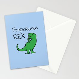 Pregasaurus Rex Stationery Cards