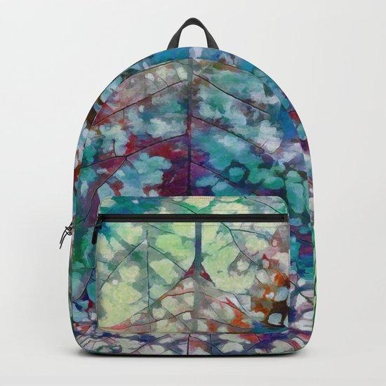 Colorful leaves II Backpack
