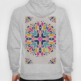 Colorful Ethnic Festive Abstract Floral Pattern Hoody