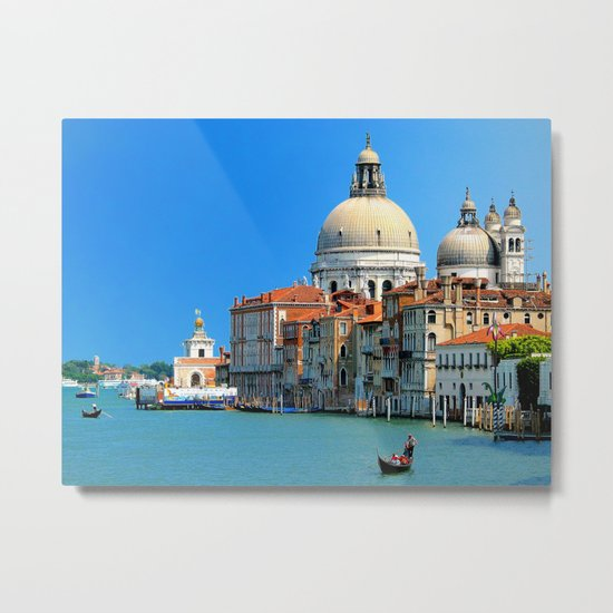 One day in Venice Metal Print