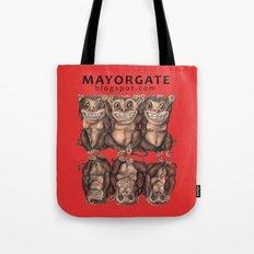 Emancipated Monkeys  Tote Bag
