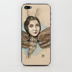 MOTH LADY iPhone & iPod Skin