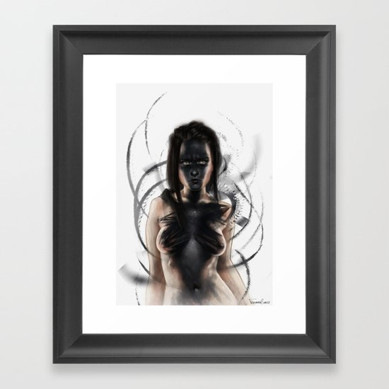 thrives Framed Art Print