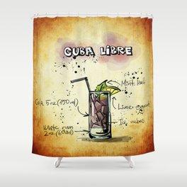 Cuba_Libre_by_JAMFoto Shower Curtain