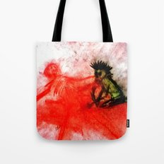 Death Comes Ripping Tote Bag
