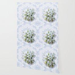 pretty bouganvillea on delicate kaleidoscope Wallpaper