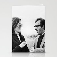 annie hall Stationery Cards featuring ANNIE HALL by VAGABOND