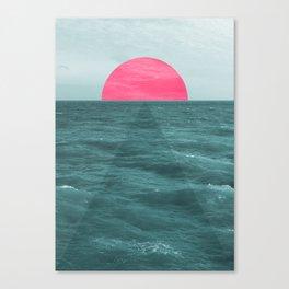 Magenta Sunset Canvas Print