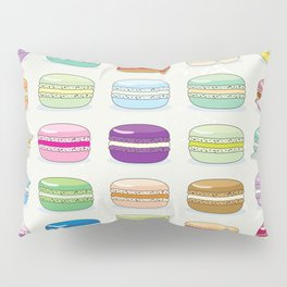 Colorful macaroon set Pillow Sham