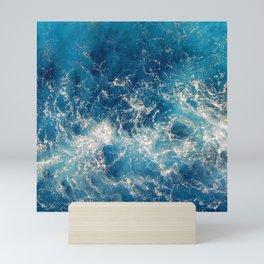 deep sea Mini Art Print