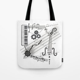 Musical Masterpiece Tote Bag