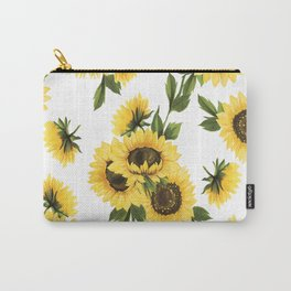 Lovely Sunflower Carry-All Pouch