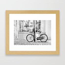 Chocolate Cafe Framed Art Print