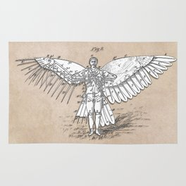 patent art Spalding Flying Machine 2    1889 Rug