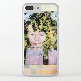 Connecting with nature Clear iPhone Case