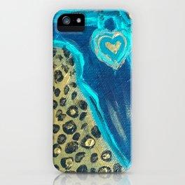 Florida Teal Love iPhone Case