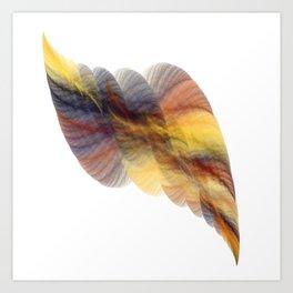 Colour of Dust (A7 B0160) Art Print