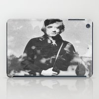 johnny cash iPad Cases featuring johnny cash by monicamarcov