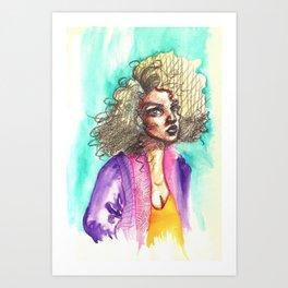 Anora Art Print