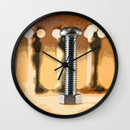 the focus Wall Clock