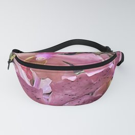 Pink Hawaiian Tropical Flowers Fanny Pack