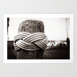In Knots Art Print