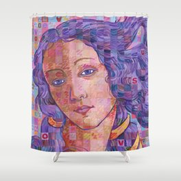 Variations On Botticelli's Venus – No. 2 Shower Curtain