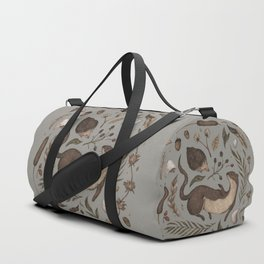 Weasel and Hedgehog Duffle Bag