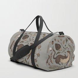 Weasel and Hedgehog Duffle Bag