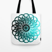 cycle Tote Bags featuring Cycle by Advocate Designs
