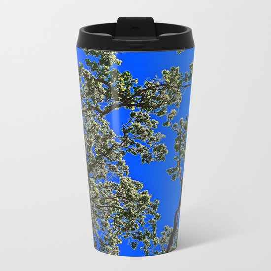 Oak, Mythological Tree Of Life Metal Travel Mug