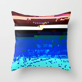 Ocean Death Throw Pillow