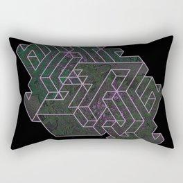Distorting Darkness Rectangular Pillow