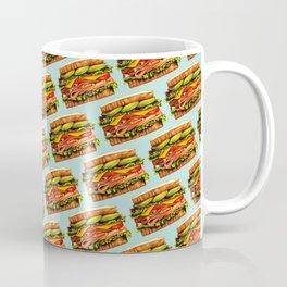Sandwich Pattern - Turkey Coffee Mug