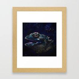 Bearded Dragon Framed Art Print