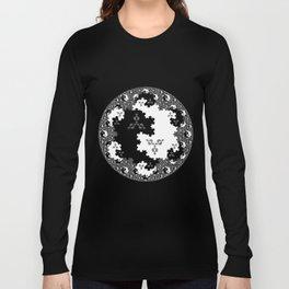 Fractal Taijitu Long Sleeve T-shirt