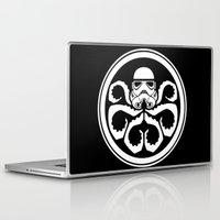 hydra Laptop & iPad Skins featuring Hydra Trooper by Don Calamari