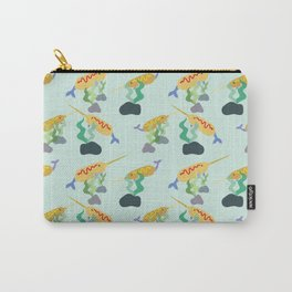 Underwater Unicorndog/Narwhal Carry-All Pouch