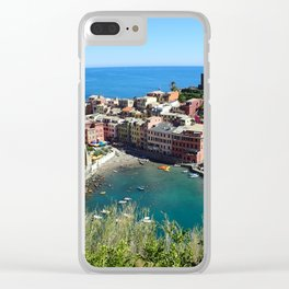 Vernazza Trails Clear iPhone Case
